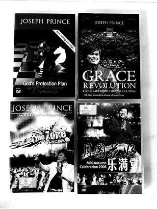 Sermon DVD sets by Pastor Joseph Prince & Pastor Mark Ng