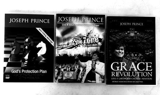 Sermon DVD sets by Pastor Joseph Prince