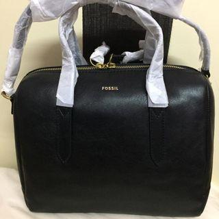 Fossil Sydney Full Leather Satchel
