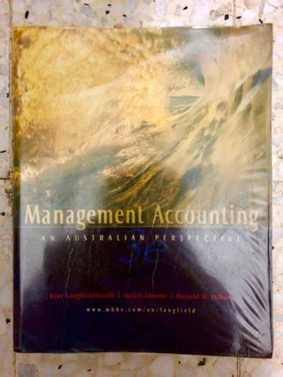 Management Accounting - An Australian Perspective