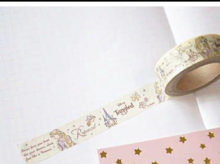 日本直送迪士尼公主Mt 紙膠帶