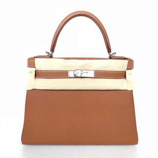🚚 Hermes - Gold Kelly 28 Retourne in Veau Togo with PHW