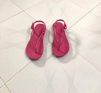Havaianas 紅色涼鞋👠👠