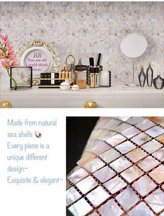 Wallpaper 3D Korea Mosaic tiles Self adhesive