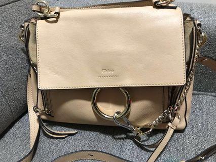 Authentic Chloé Faye medium day bag