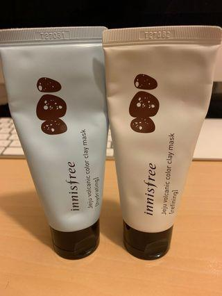 Innisfree Volcanic Colour Clay Mask