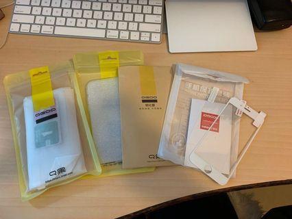 iPhone 6/6S 透明軟殼 & 保護膜