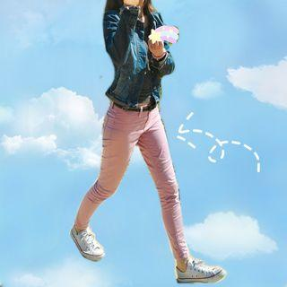 🔄Dusty Pink Jeggings Pants