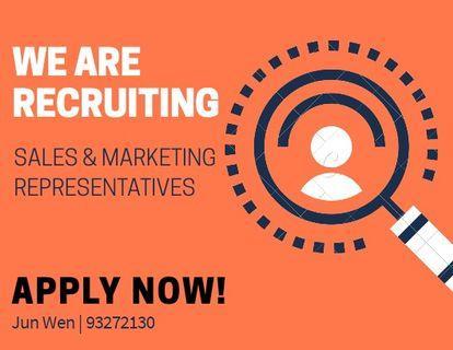🚚 We are recruiting Sales Representatives *No Exp Req*