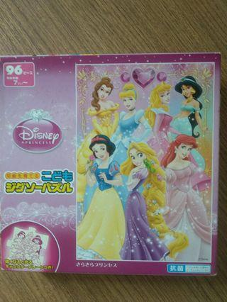 🚚 96 piece princess puzzle