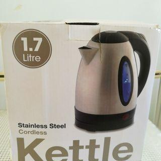 Stainless Steel 1.7 L Boiling Water Kettle
