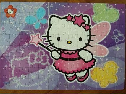 🚚 Hello Kitty puzzle (104 pieces)