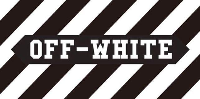 Off-White [Car Decal / Sticker Vinyl] (Free Mailing!)