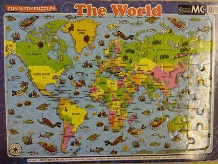 🚚 The world puzzle