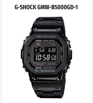 🔥 🔥 🔥 CASIO GMW B5000 GD-1 🔥 🔥 🔥