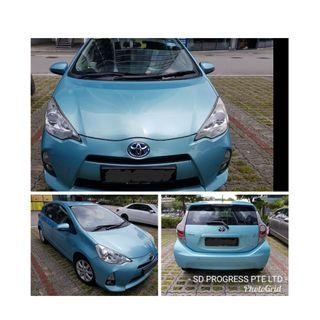 Toyota Prius C from $54