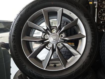 "Honda Civic 2019 16"" Original Rims with Tyres"