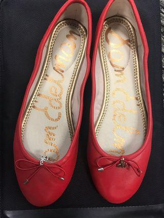 🚚 Sam Edelman red ballerinas