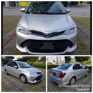 Toyota Axio Hybrid from $58 a day