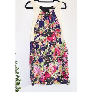 Bettina Liano Floral Cocktail dress - Size 14