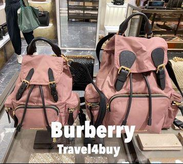 Burberry pink Backpack