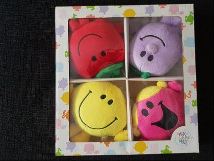 Mr Men Little Miss stuffed toys