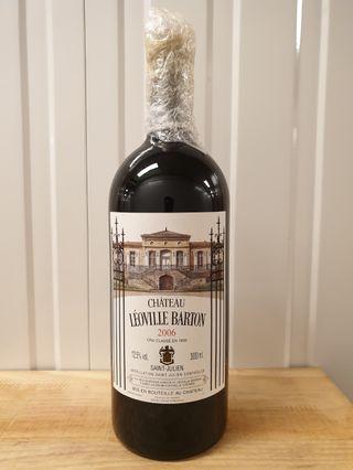 Ch Leoville Barton 2006 Rare 3L Bottle! (WS94)