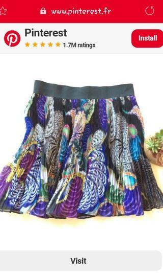 Ted Baker pleated skirt