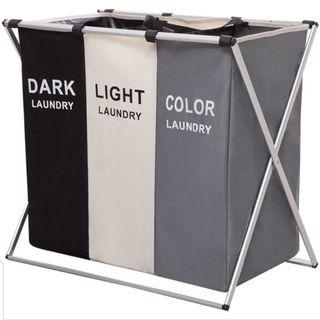 Foldable Laundry Basket with stand