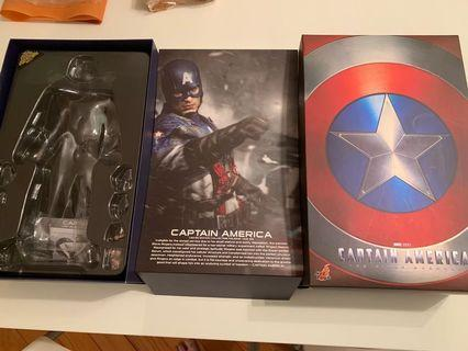 Hot toys MMS156 Captain America 盒 連 ball joint