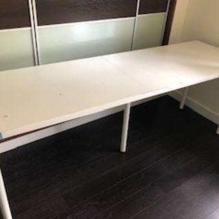 只售60---IKEA 雙人學習台 寫字桌只售60