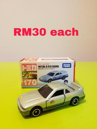 Various TOMICA diecast car for sale