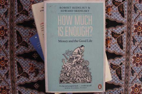 How Much Is Enough? Money and the Good Life. (Robert Skidelsky & Edward Skidelsky) - Preloved English Novel