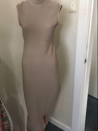 Seed heritage taupe bandage dress - BNWTS $150