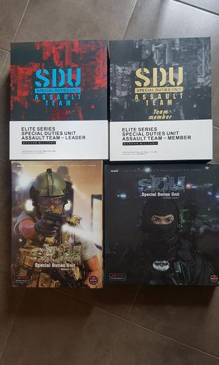 1/6 12 inch Soldier Story Dam Toys S.D.U SDU Hong Kong Police