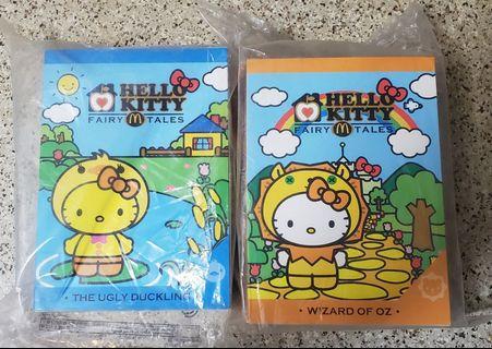 麥當勞m記 hello kitty吉蒂貓 生肖系列玩偶 獅子加雞