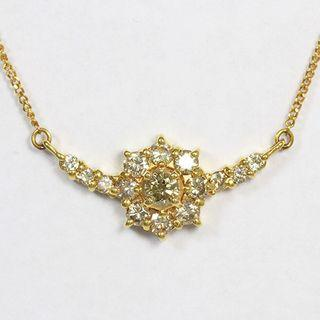 0.5 ct - 18k Diamond Necklace (Choker)