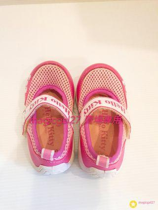 Hello Kitty 台製學步鞋 14公分約8成新