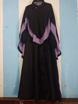 Gamis set hijab net