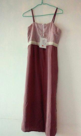 Casual sleeveless Long dress 悠閒背心長裙
