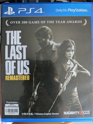🚚 The Last Of Us Remastered PS4