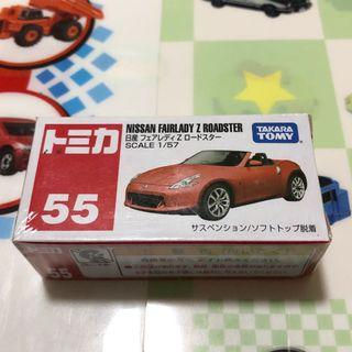 🚚 Tomica no.55 Nissan Fairlady roadster