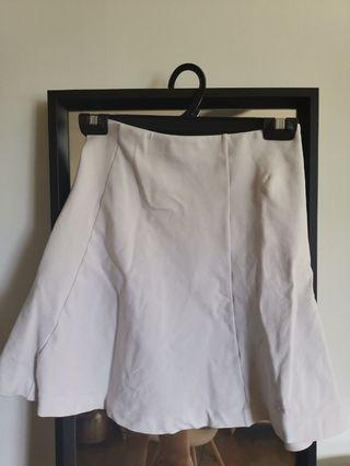 Uniqlo White Skirt