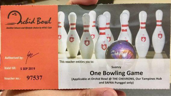 🚚 Orchid Bowl bowling game vouchers