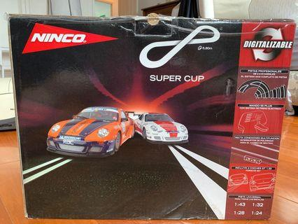 Ninco racing cars with track