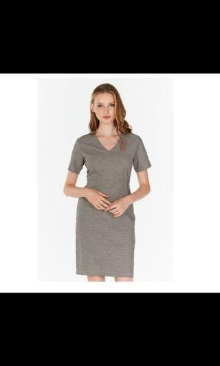 BNWT The Closet Lover Jaylin Houndstooth Dress