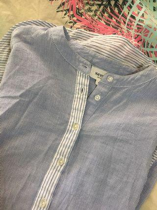 Seed long sleeve shirt size 8