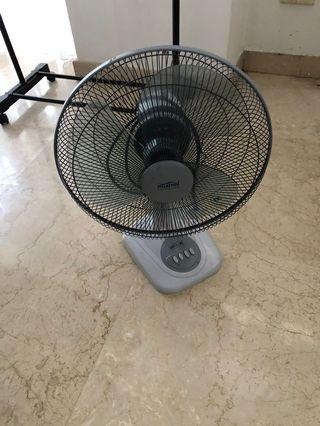 🚚 Mistral table fan