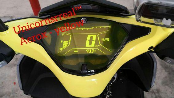 Yamaha Aerox 155  (speedometer protector)