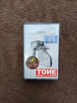 Kaset Coldplay original EMI